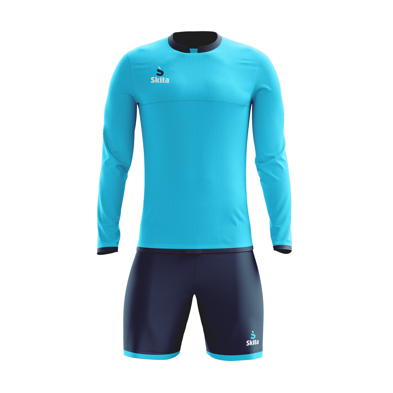 Maillot short Estoril (bleu ciel/bleu nuit)